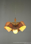 VENEER LAMP.SUPER DESIGN  HAVE COPYRIGHT LAMP。获奖设计木皮灯,木制木质吊灯